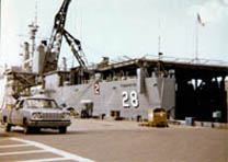 USS Thomaston History