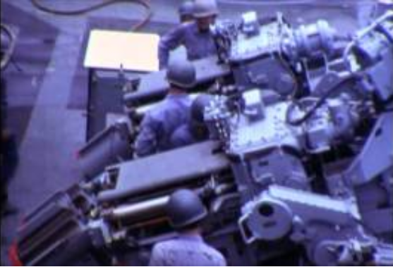 USS Thomaston films from 70s